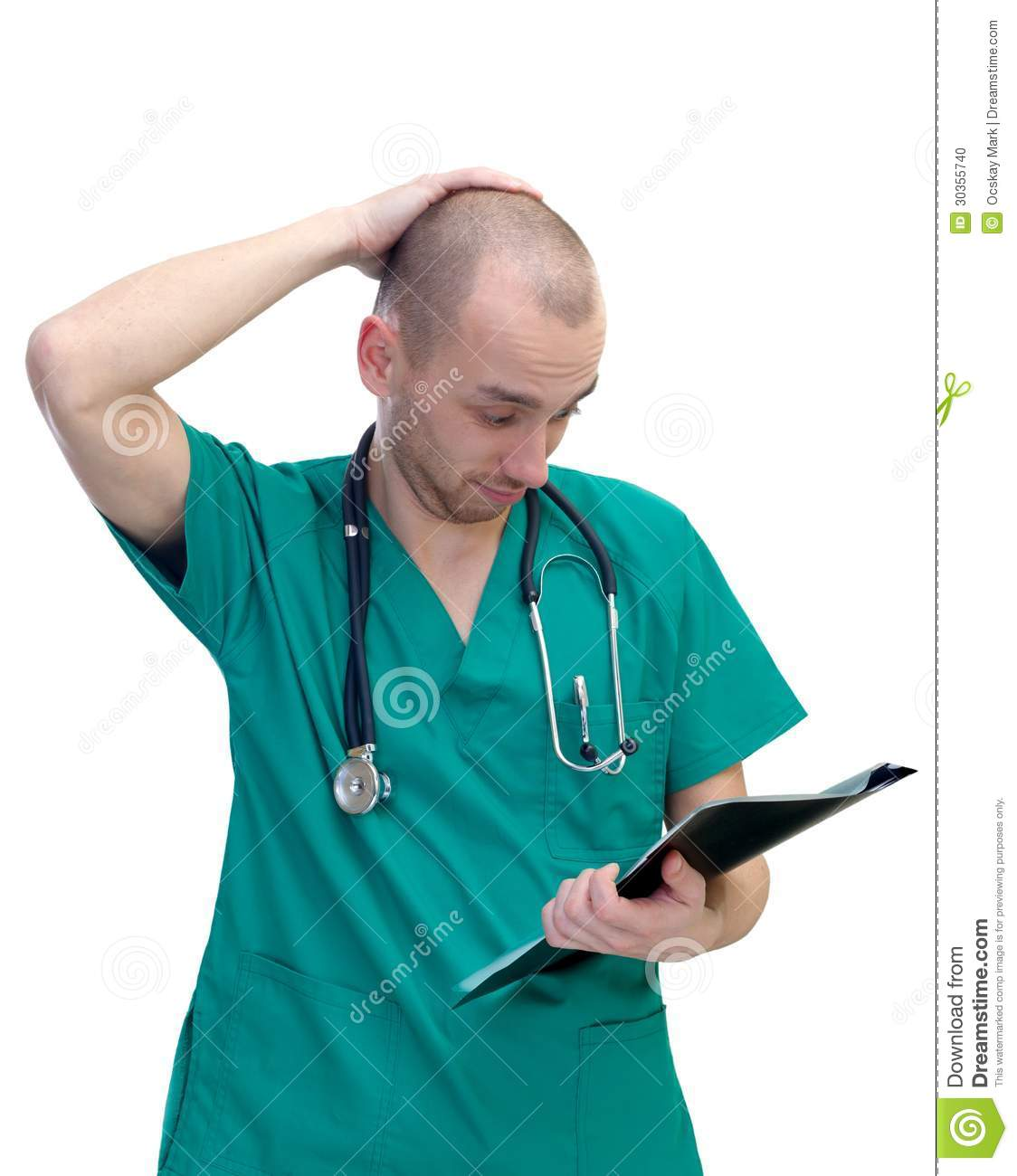 Image result for picture of a confused medical doctor