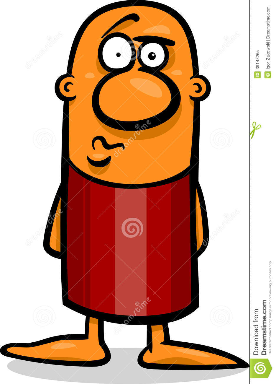 Confused Guy Cartoon Illustration Stock Vector - Image ...