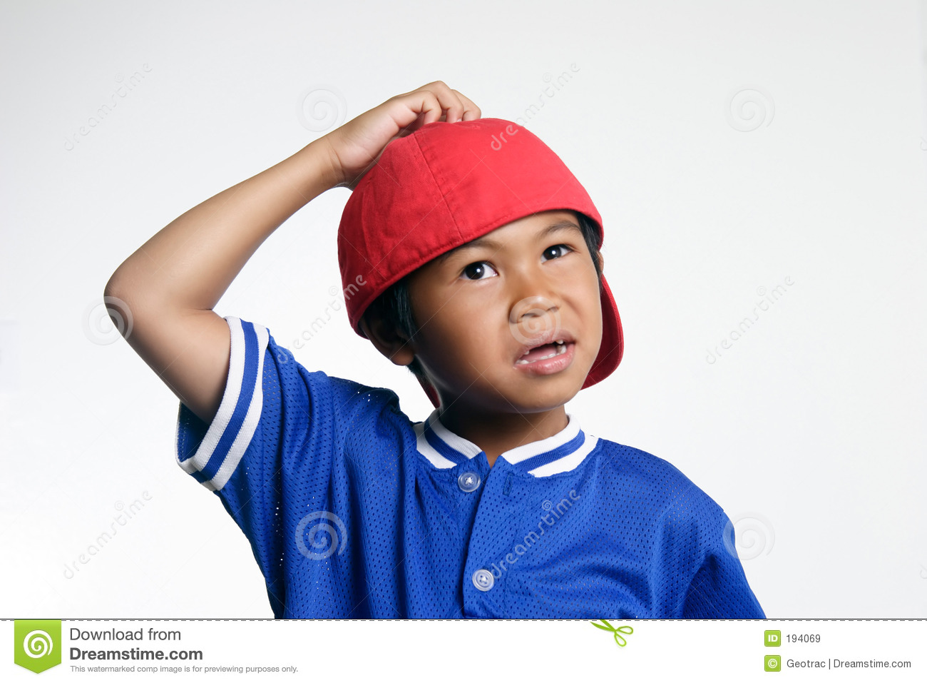 Confused Kid Royalty Free Stock Images - Image: 194069