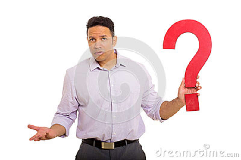 Question Mark Meme Black Guy