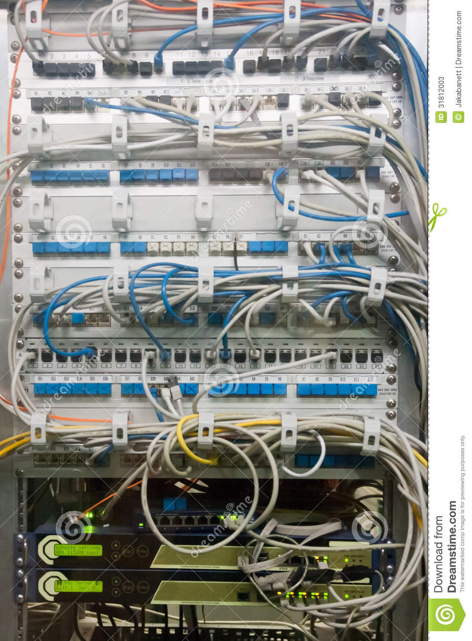 Superb Confusing Cable Box Stock Image Image Of Internet Connection Wiring 101 Capemaxxcnl
