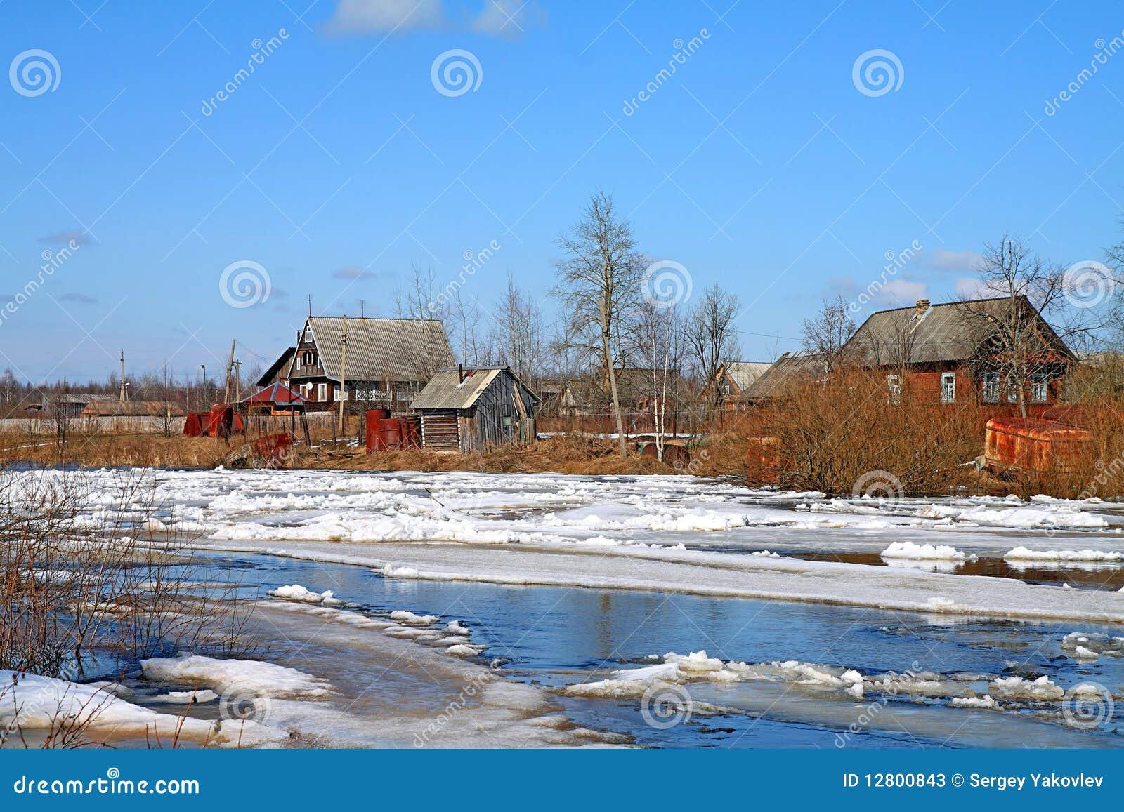 Congele no rio