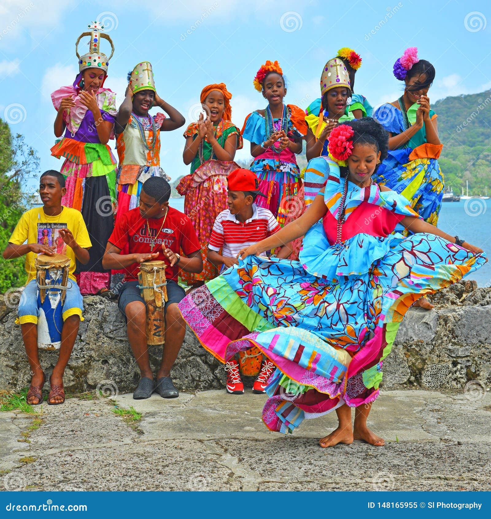 Congo Dance In Portobelo, Panama Editorial Image