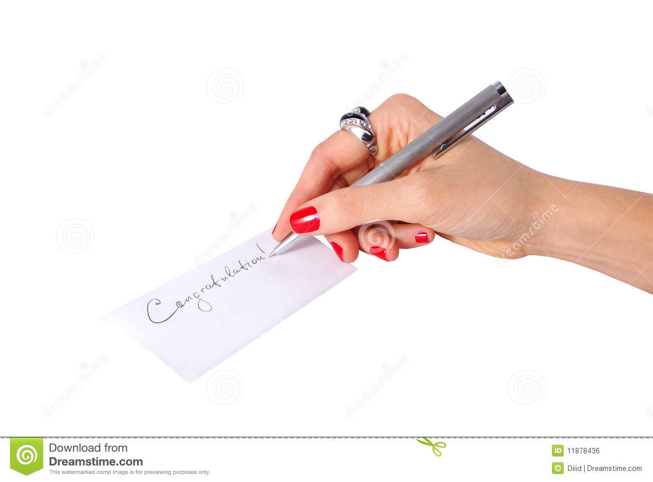 how to write note on photo
