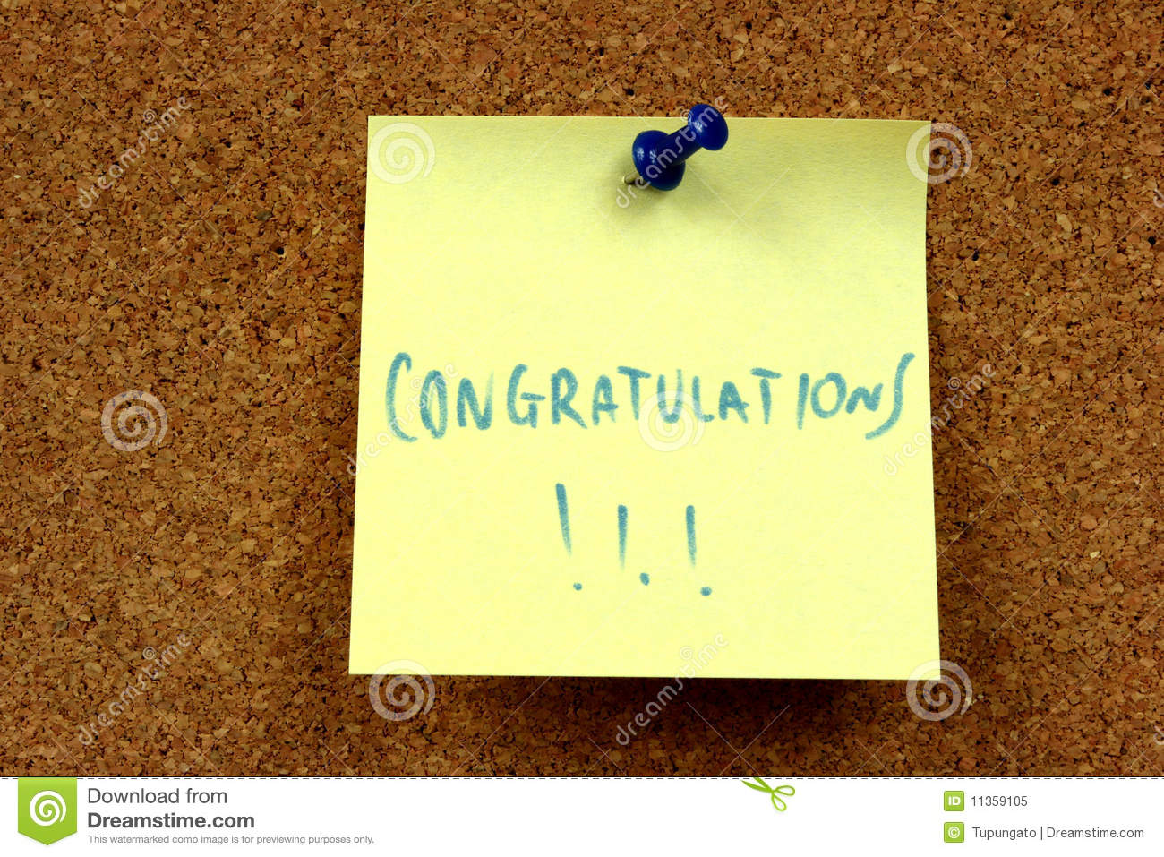 Congratulations Stock Image Image Of Information