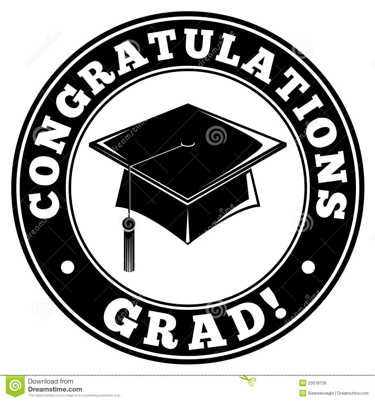 Congratulations Grad Royalty Free Stock Image - Image: 23018736