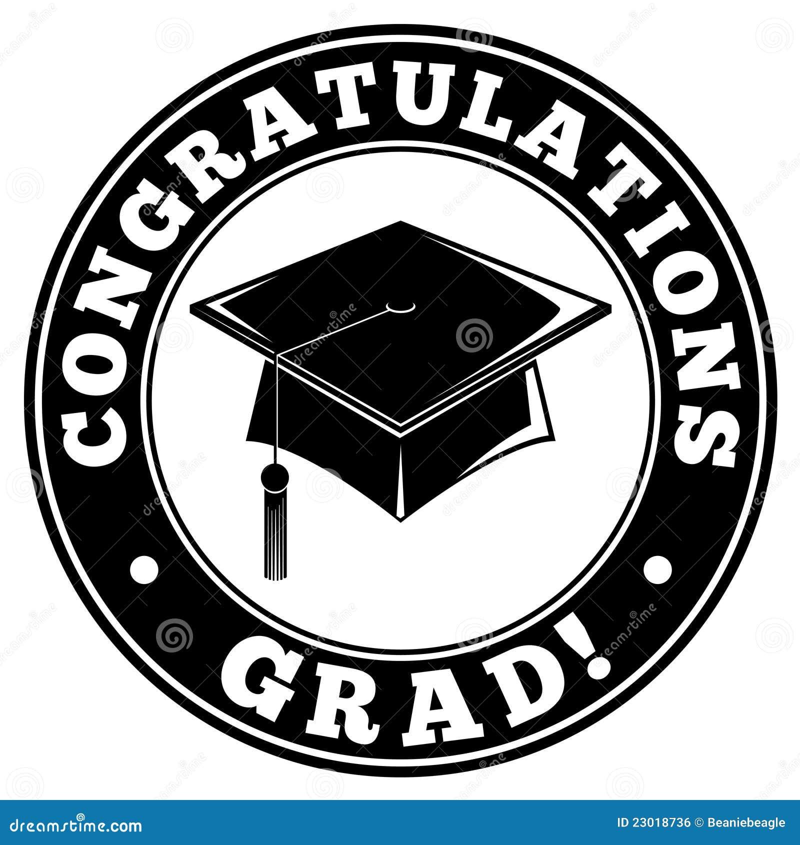 congratulations grad stock vector illustration of white 23018736