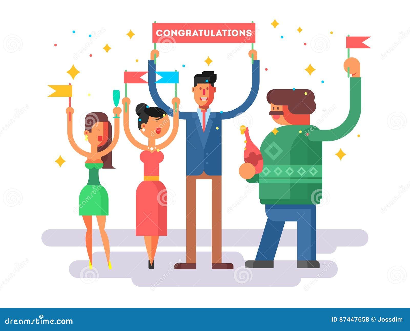 How to congratulate a woman