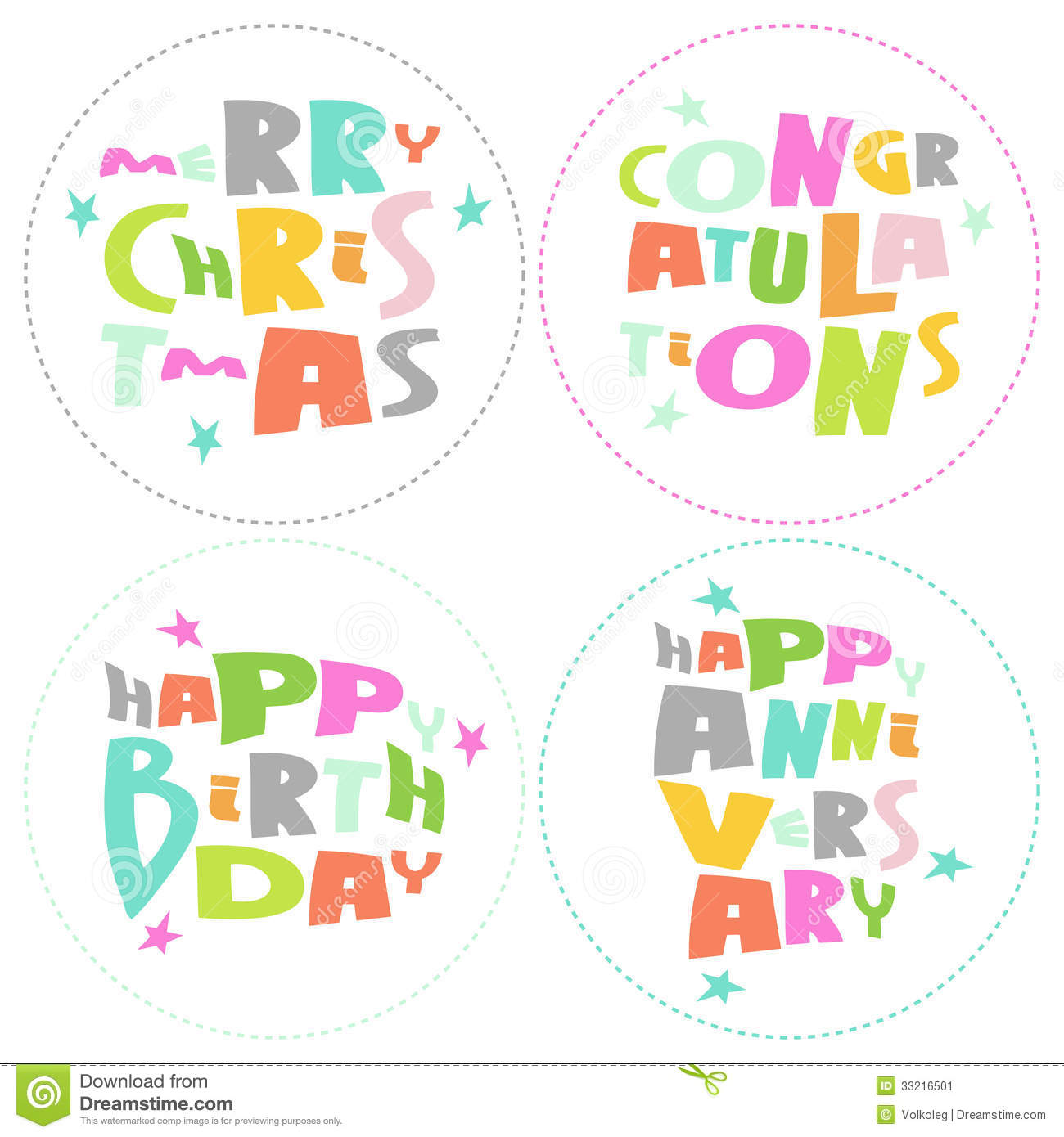 Congratulations Lettering On White Background. Vec Stock Image - Image ...