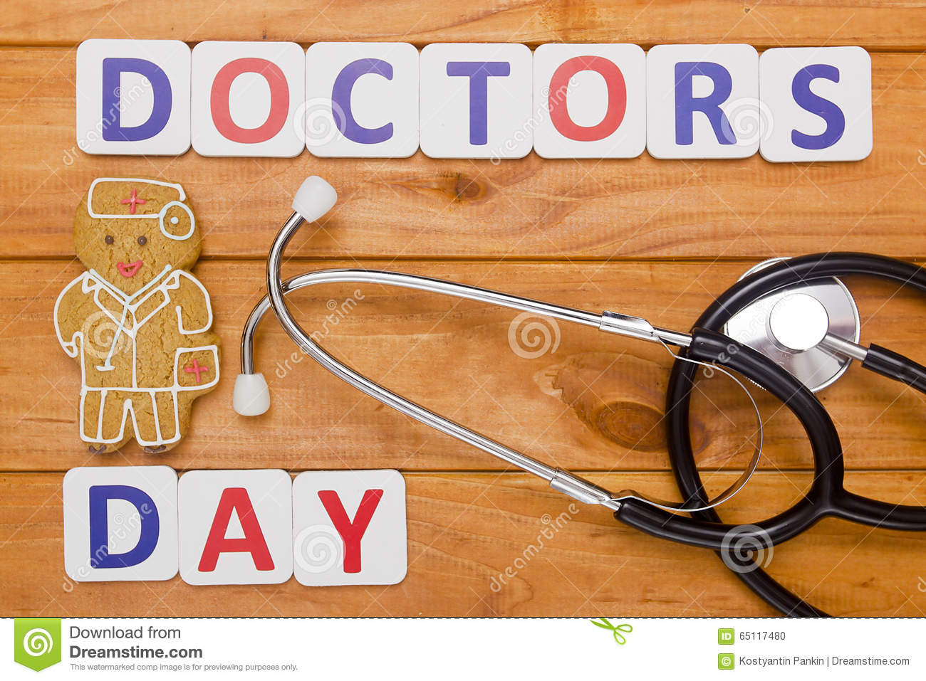 Congratulations To Doctor Day Stock Photo Image Of Injection
