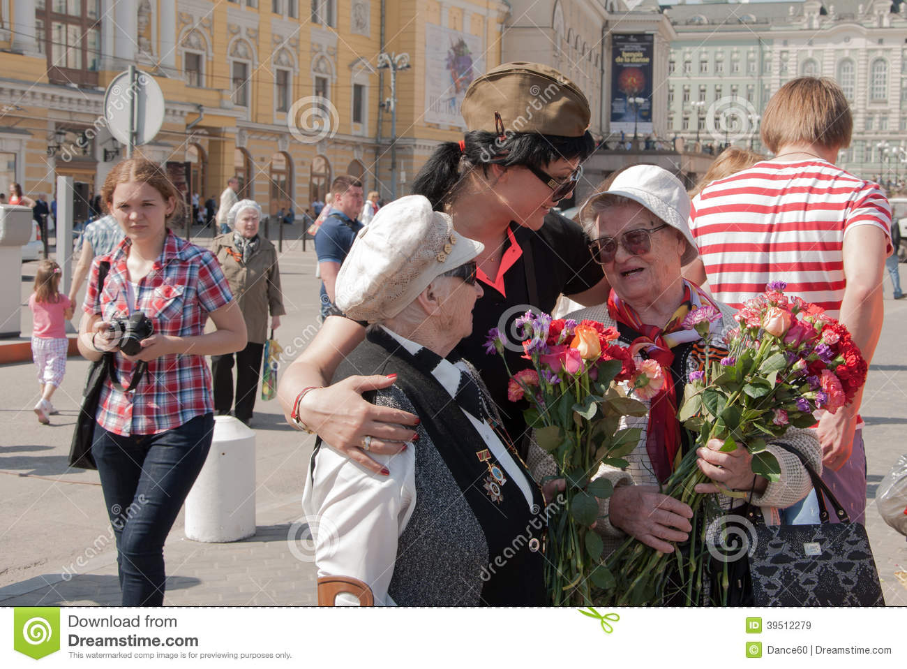 Download Congratulations Veterans On Victory Day Editorial Stock Image - Image of theatre, patriotic: 39512279