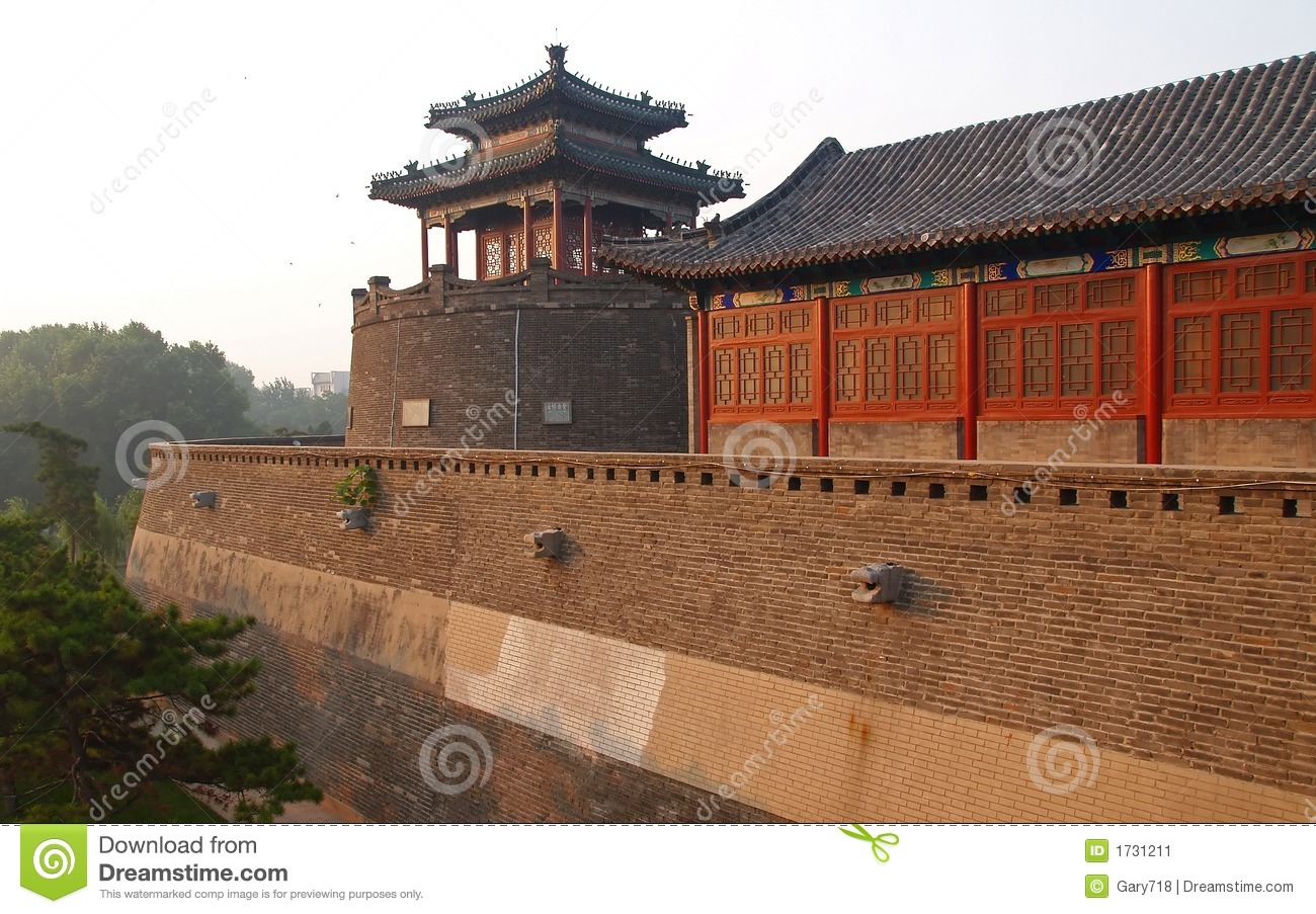 Handan China  city photos gallery : ... Park In Historical City Handan China Stock Image Image: 1731211