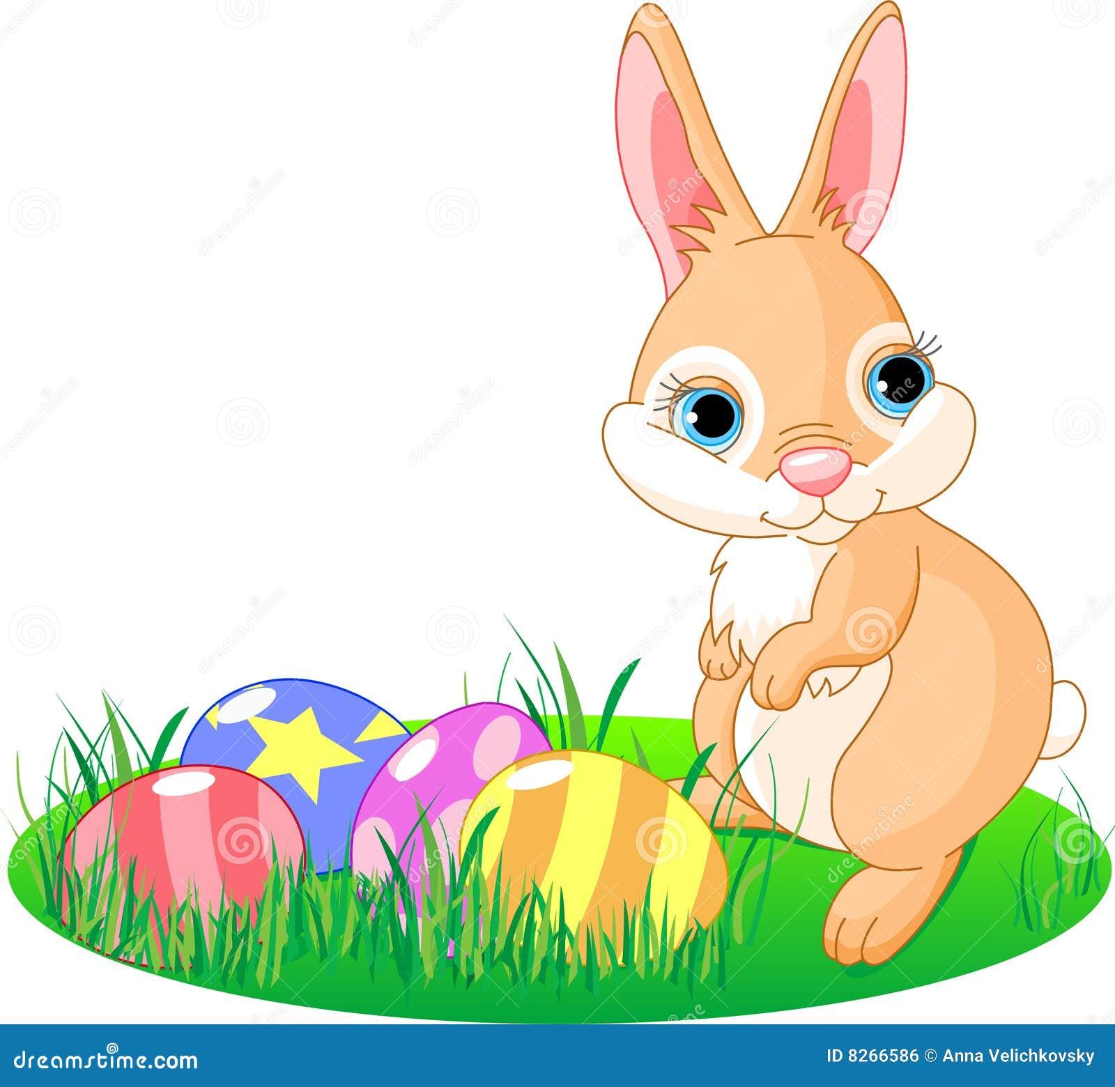 Coniglietto Pasqua Illustrazione Vettoriale Illustrazione