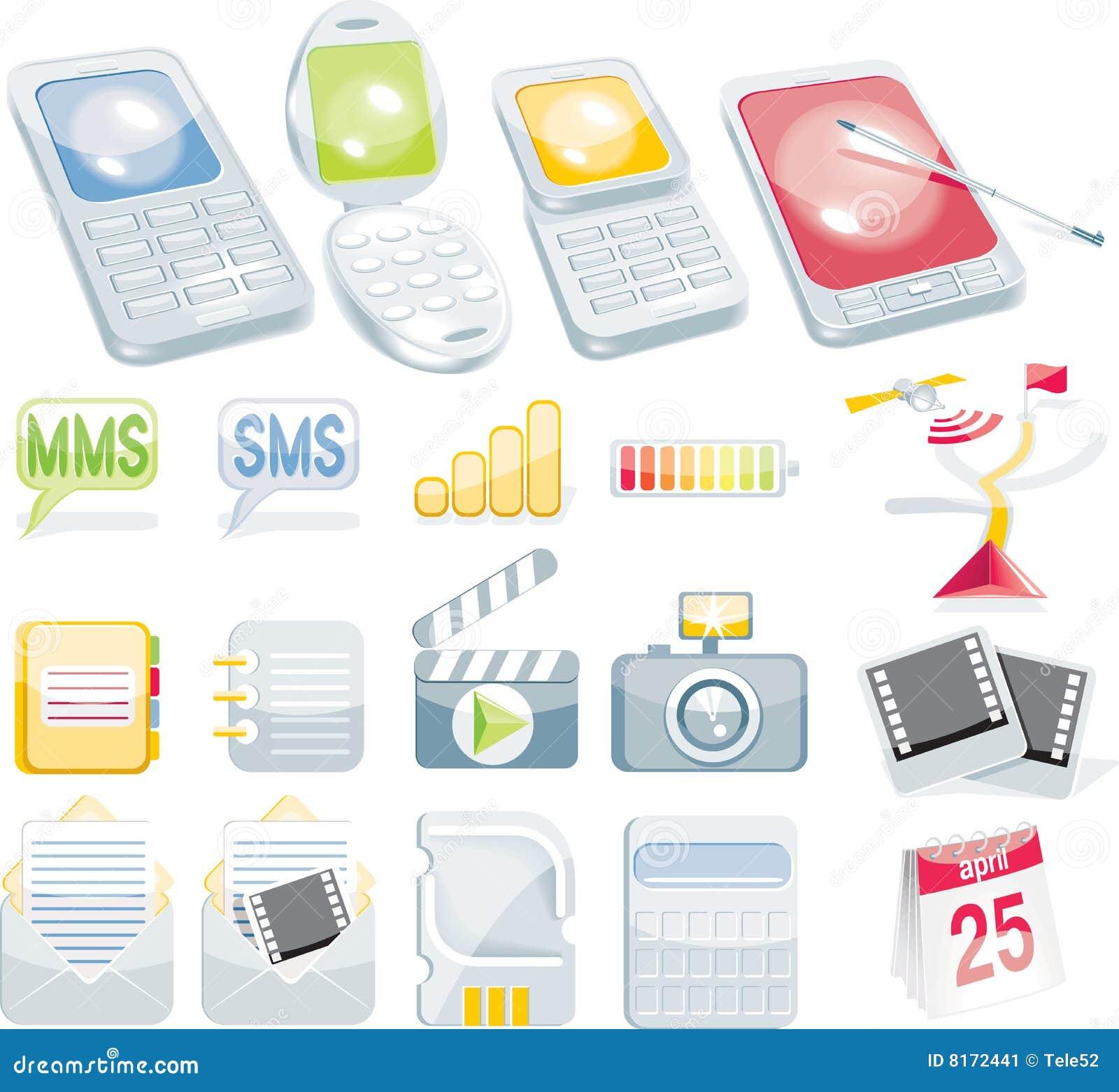 Conjunto celular del icono