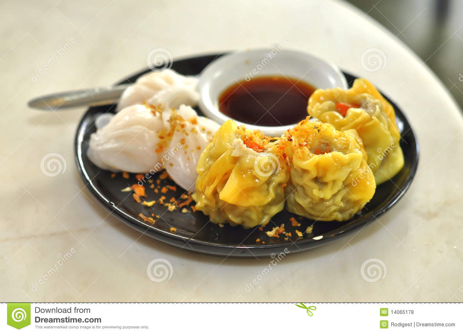 Conjunto chino del alimento de la suma de Tim