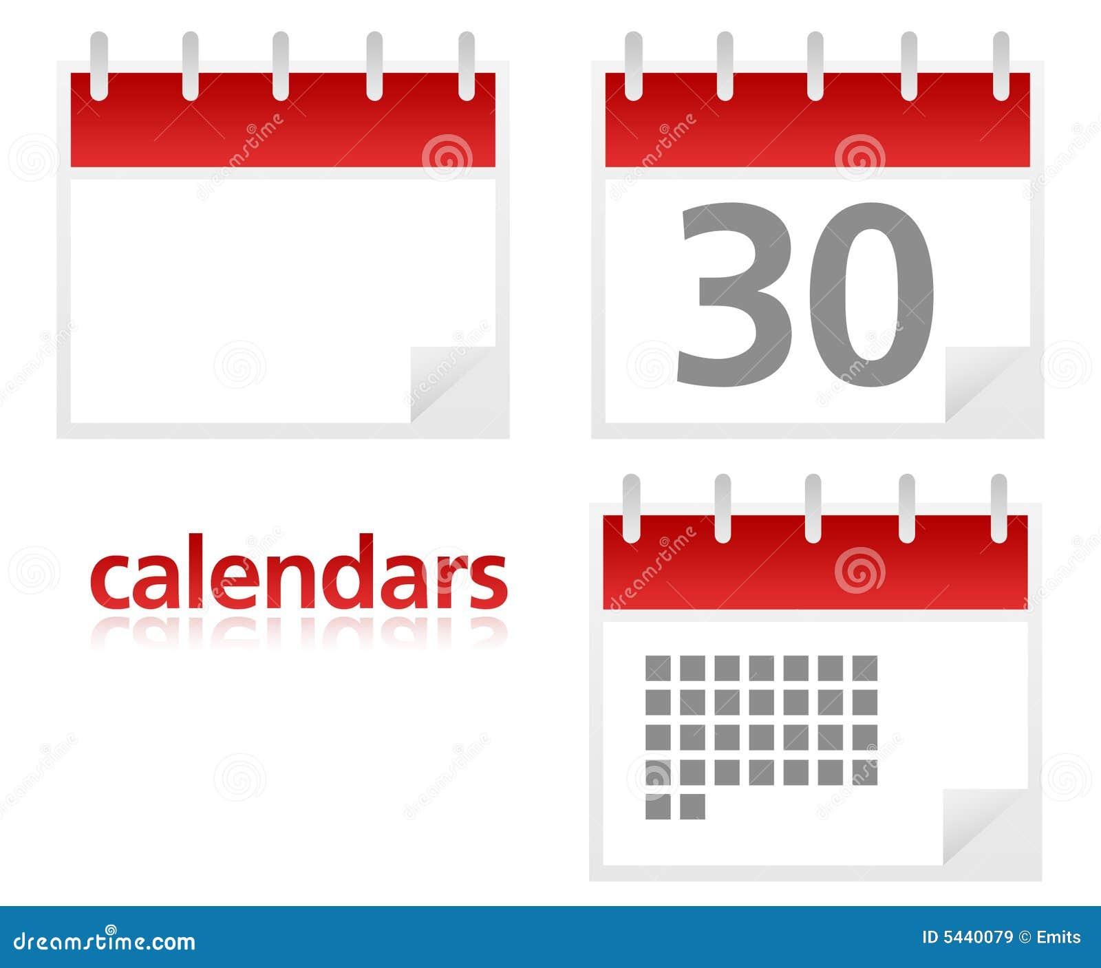 3 calendarios