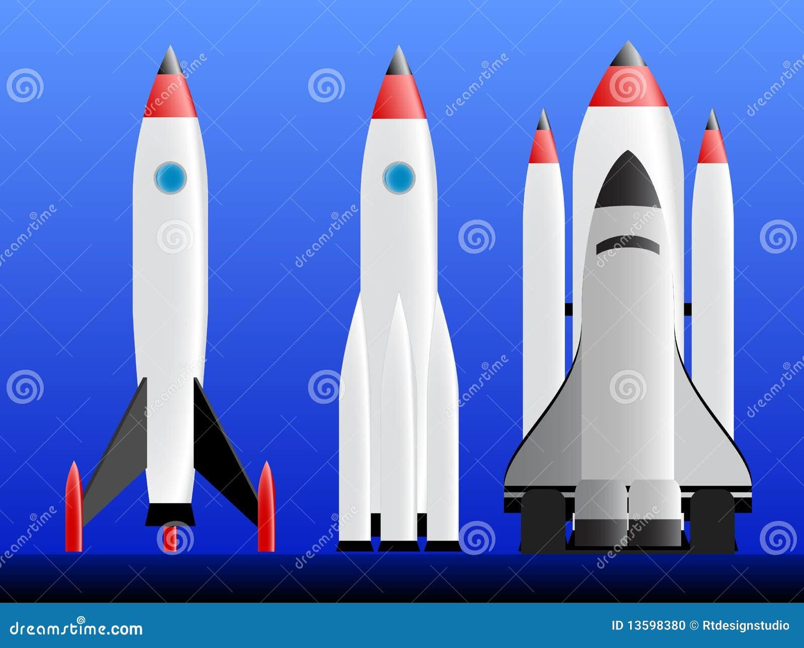foto de cohetes: