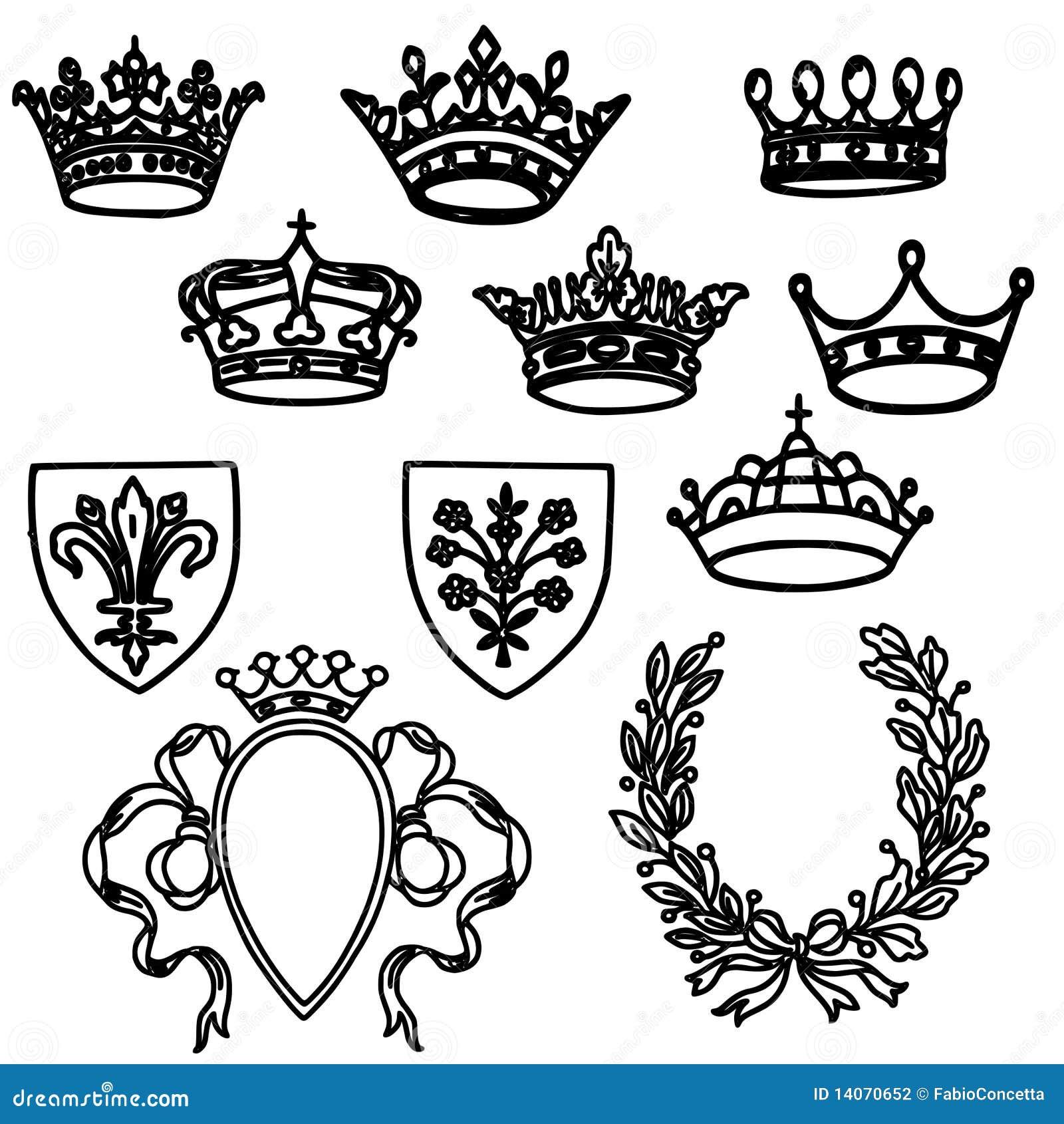 Conjunto de coronas