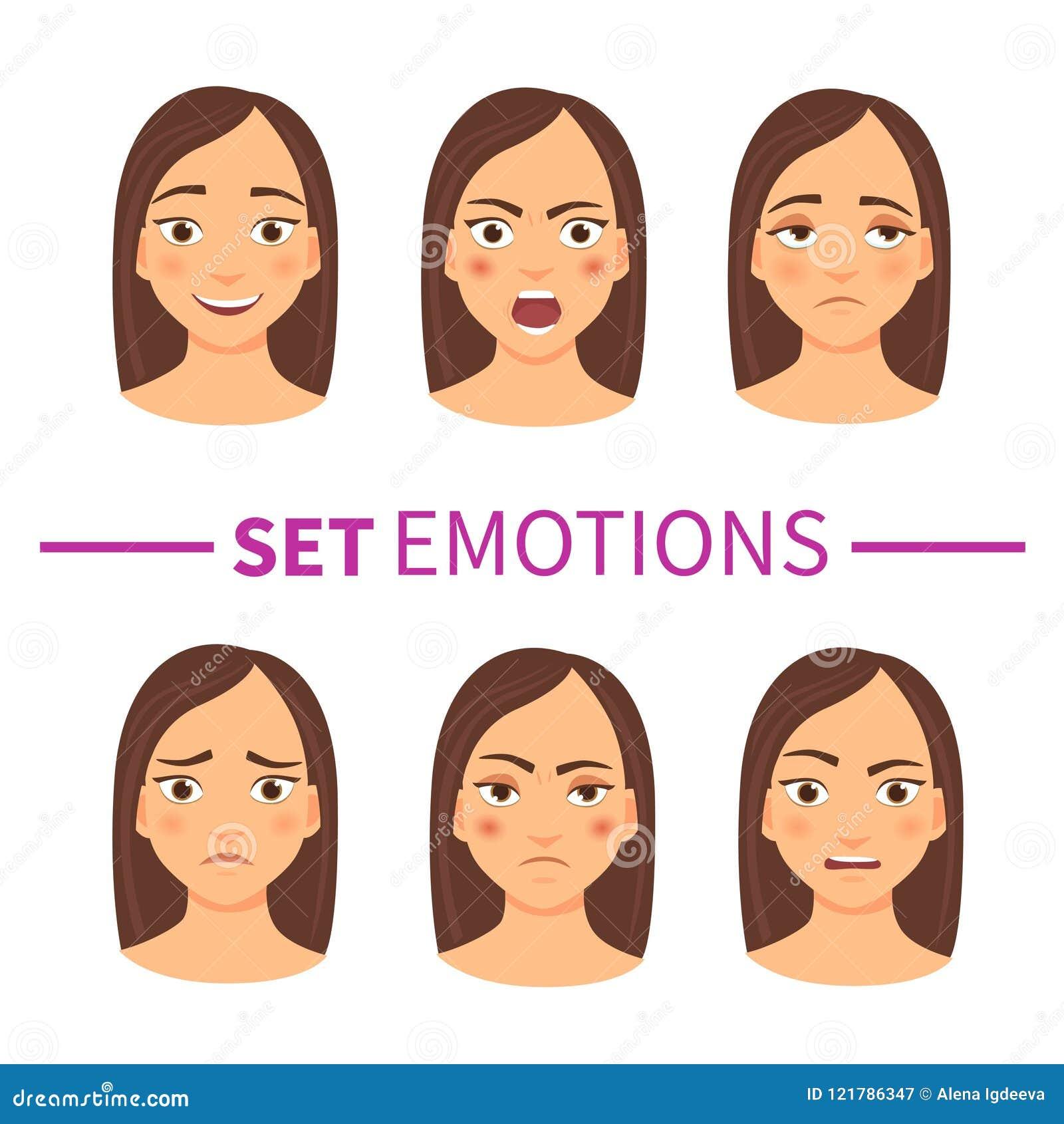 Conjunto de emociones