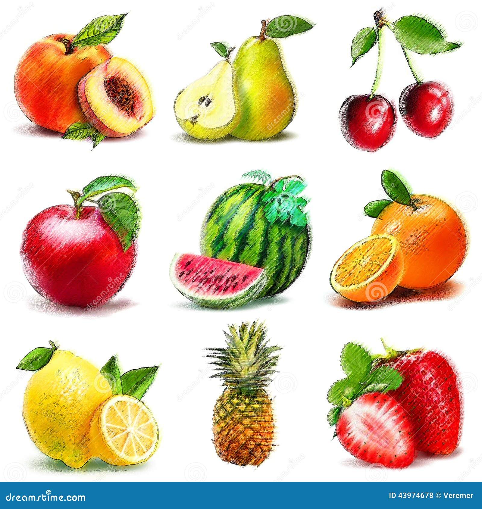 Snap Imagenes De Frutas A Color Para Recortar Y Decorar Imagenes De