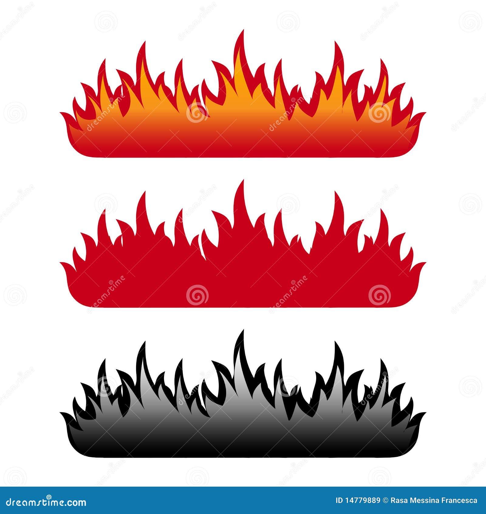 Conjunto de la llama
