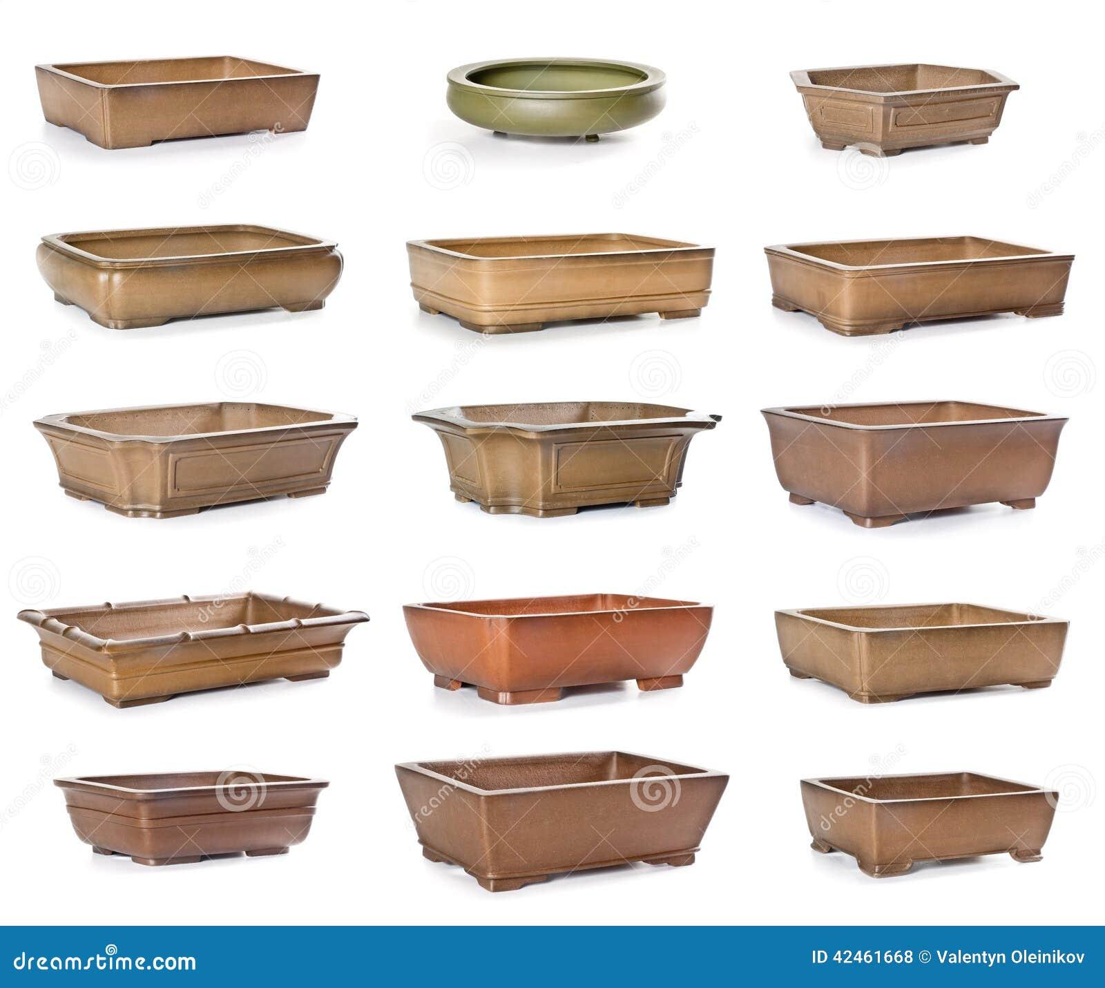 Conjunto de macetas de cer mica foto de archivo imagen Macetas ceramica online
