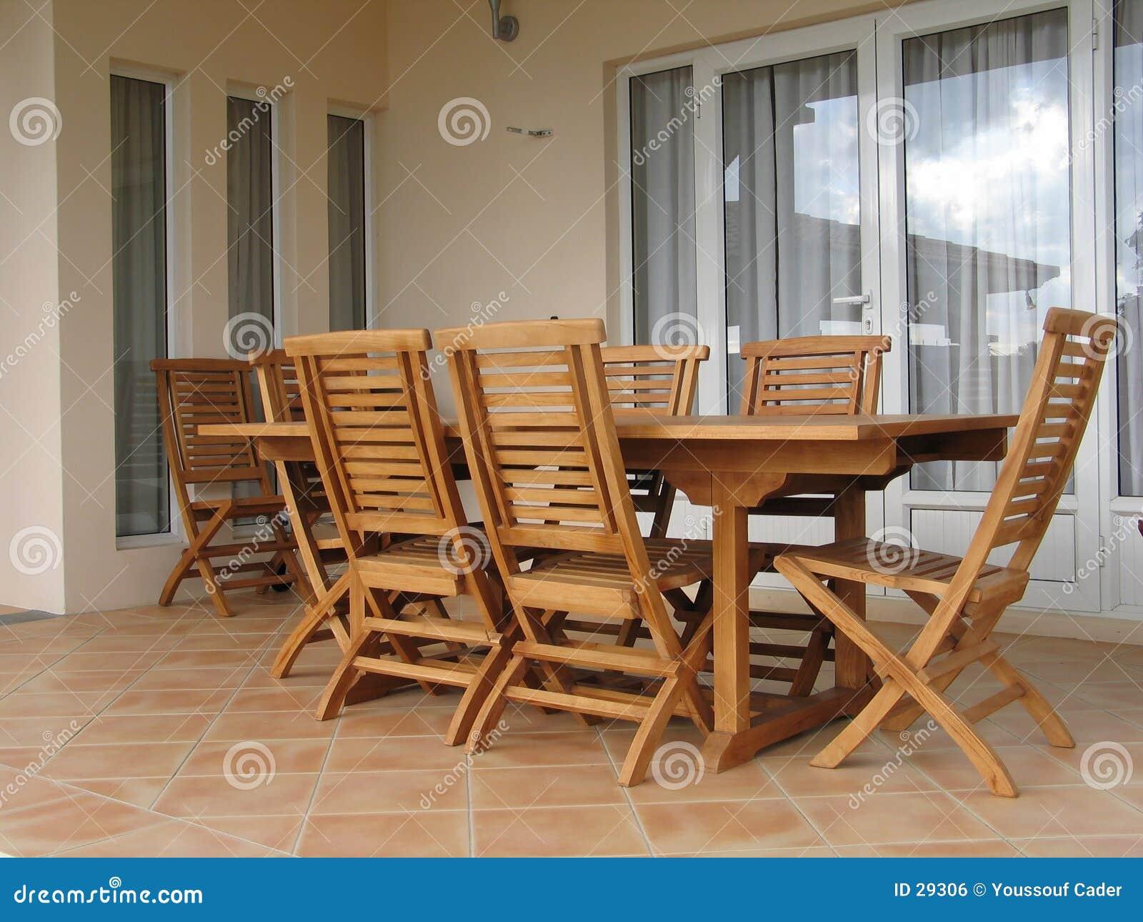 Download Conjunto de madera 1 foto de archivo. Imagen de diseño, silla - 29306