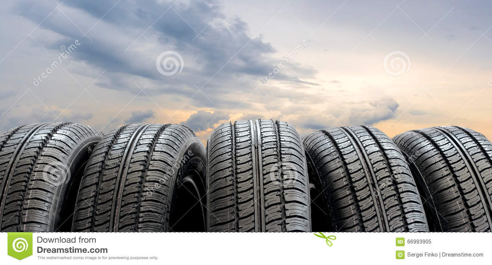 Conjunto de neumáticos
