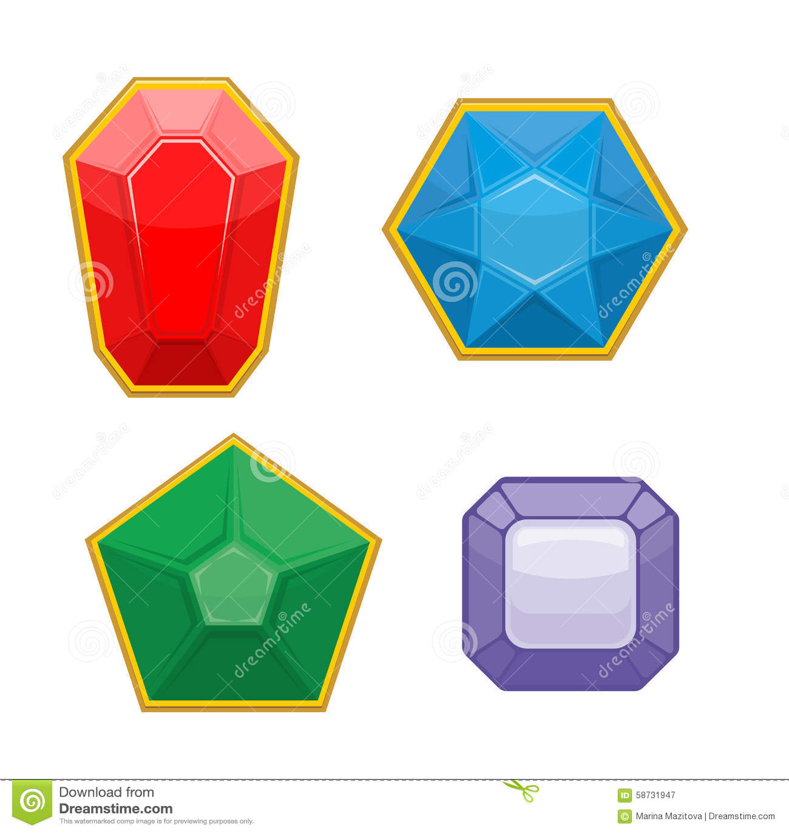 78b572212116 Conjunto De Piedras Preciosas Esmeralda Y Ruby Zafiro Y Amatista ...