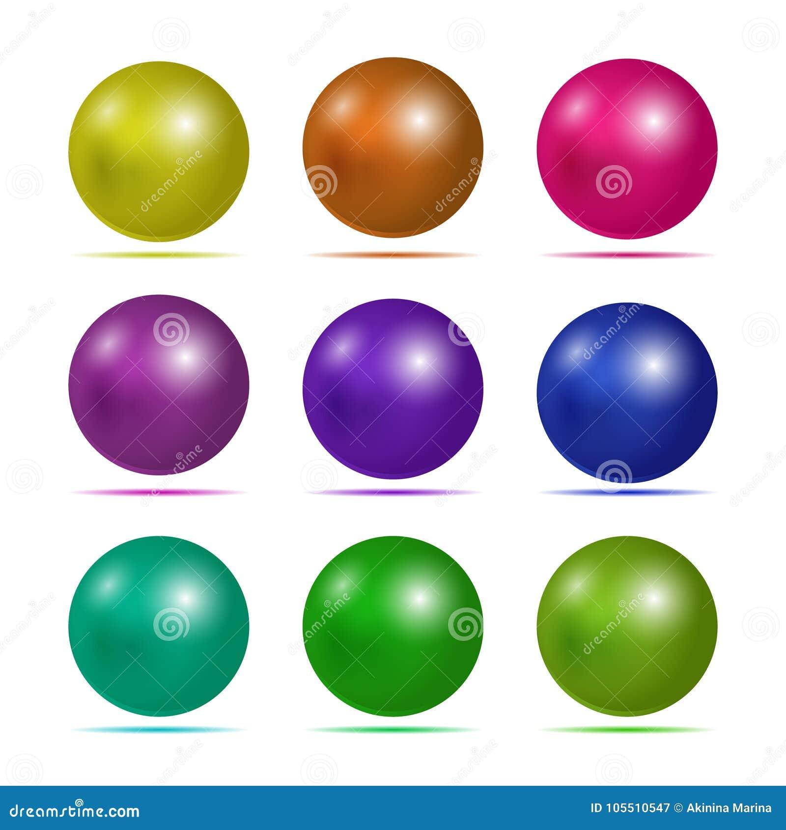 Conjunto del botón 3D Icono enmarañado para el web Tableta redonda del diseño del vector o media esfera