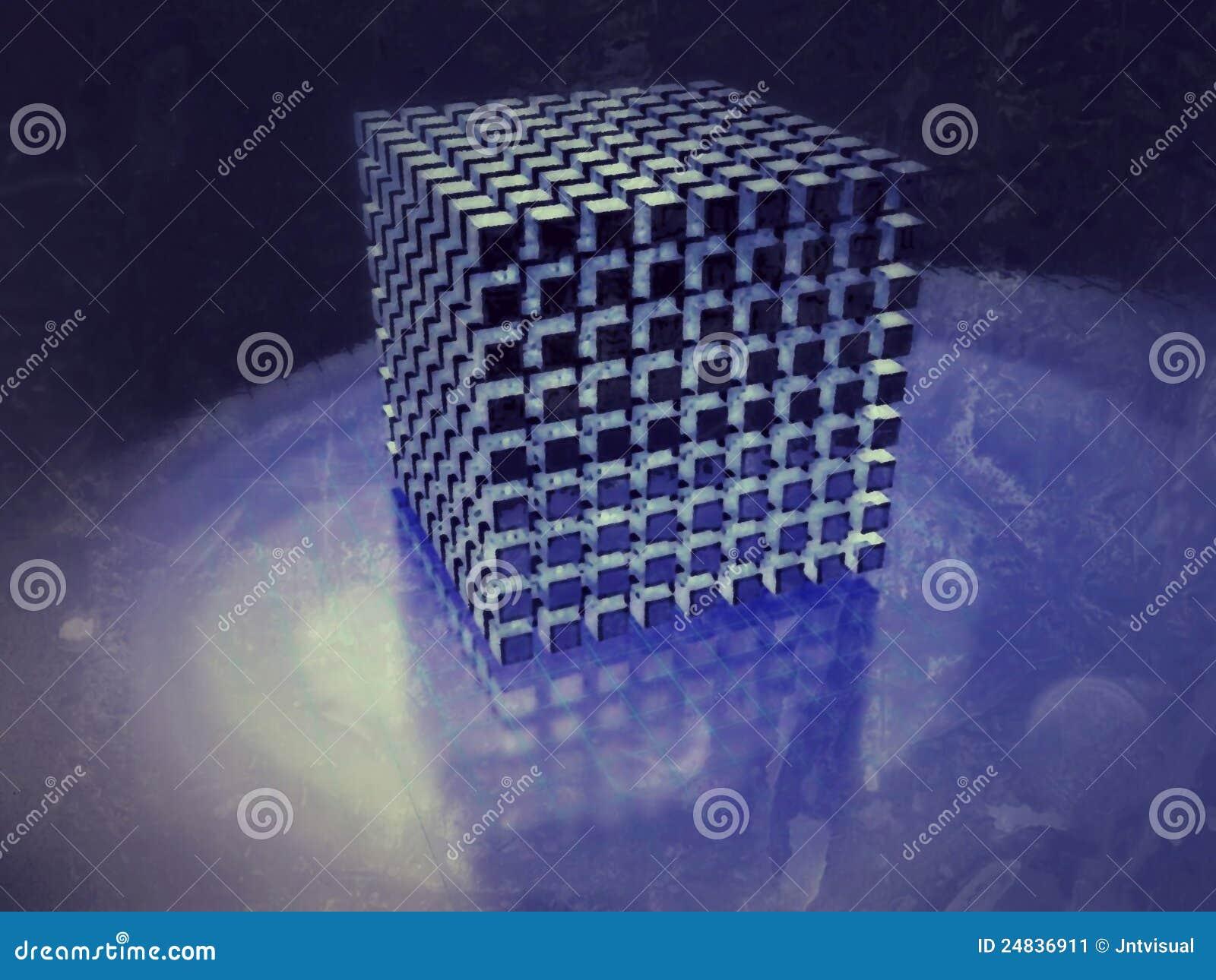 Conjunto del cubo