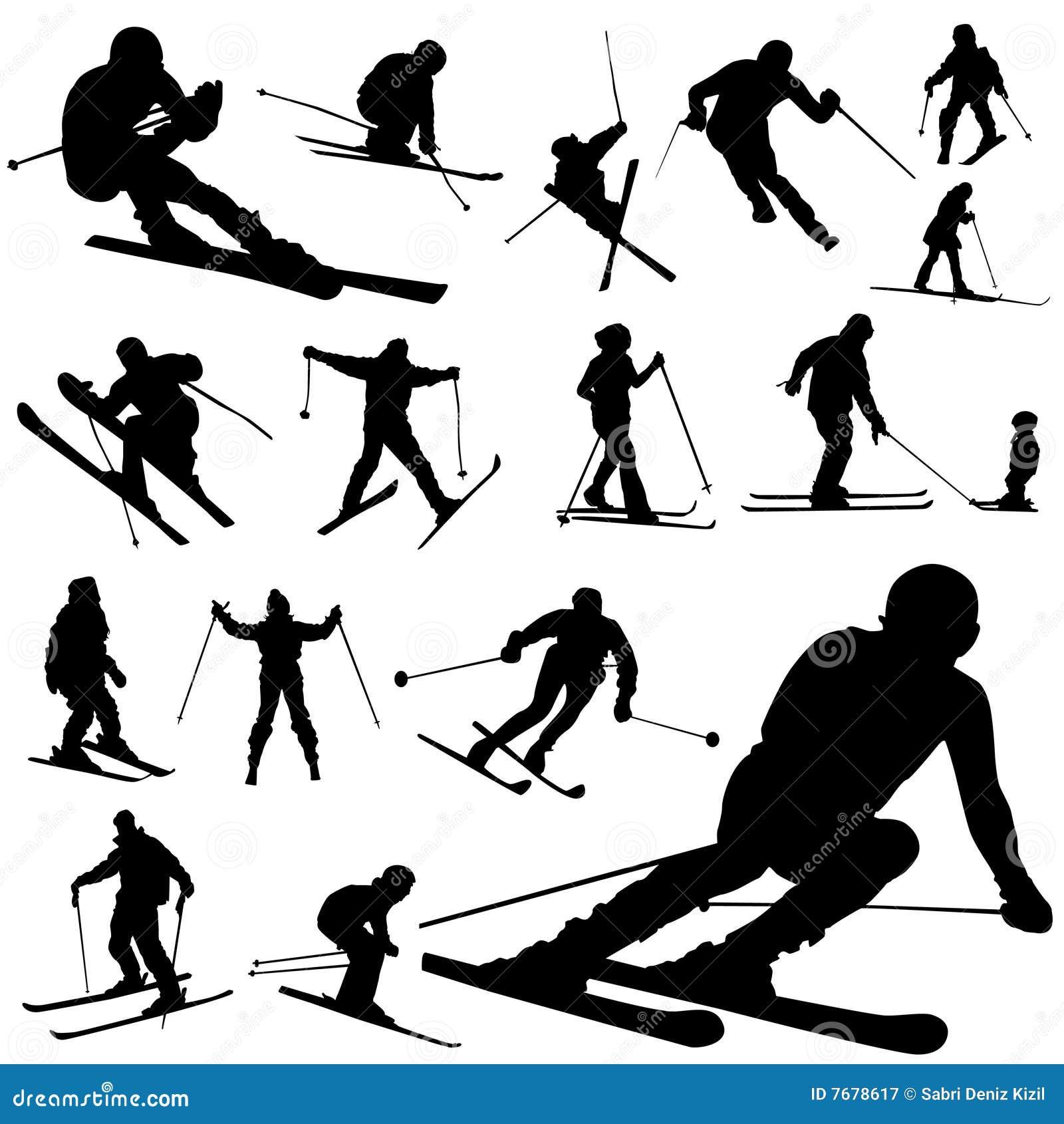 Conjunto del esquí