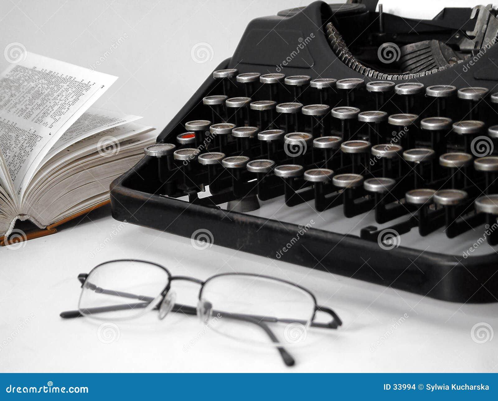 Download Conjunto Del Programa De Escritura Foto de archivo - Imagen de escriba, typewriter: 33994