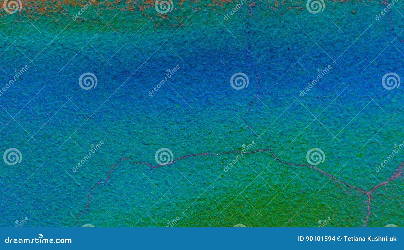 Conkrete surfage färgad bakgrund Designtextur Blått och gräsplan brigham