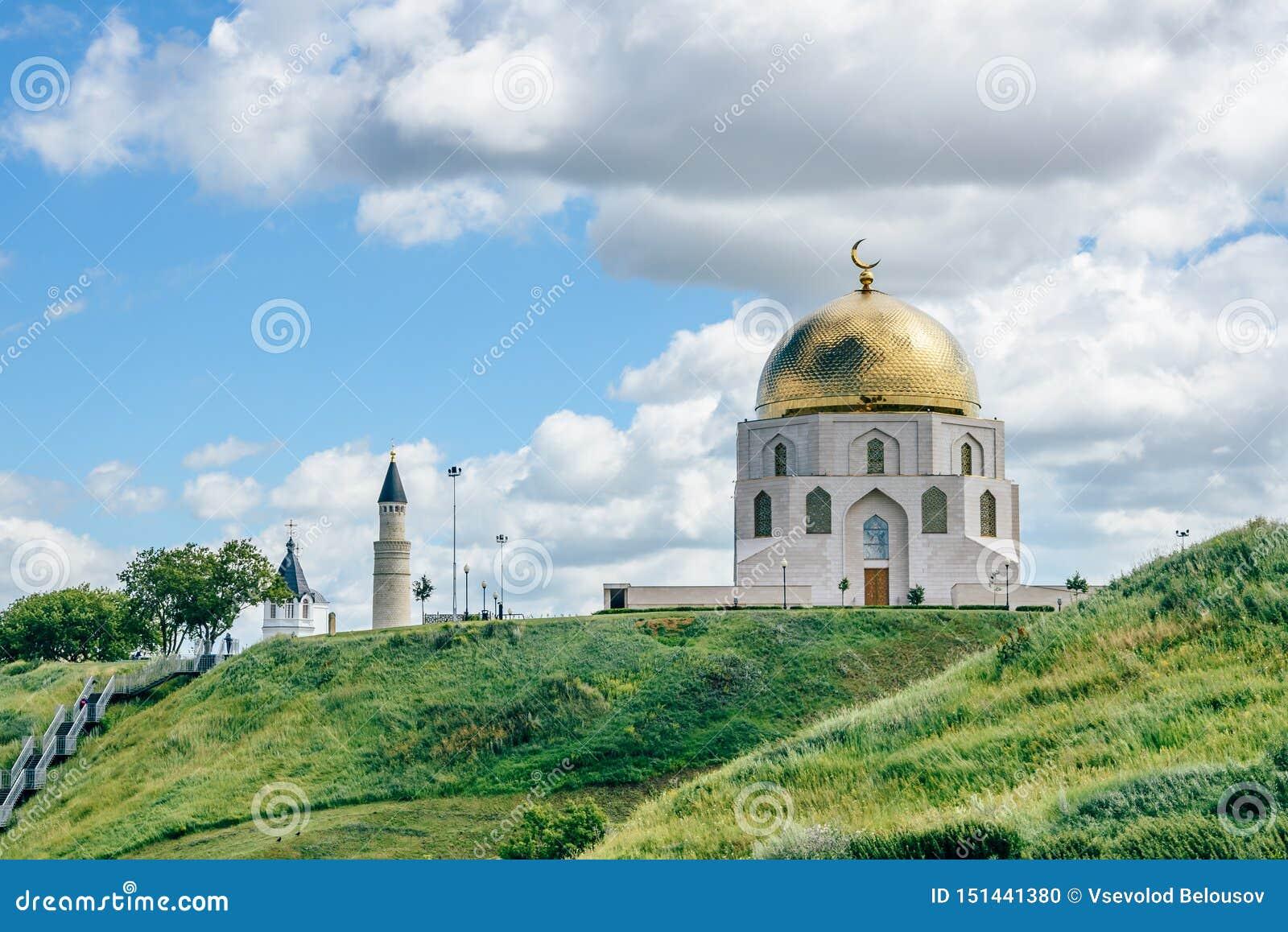 Conmemorativo firme adentro Bolgar, Rusia