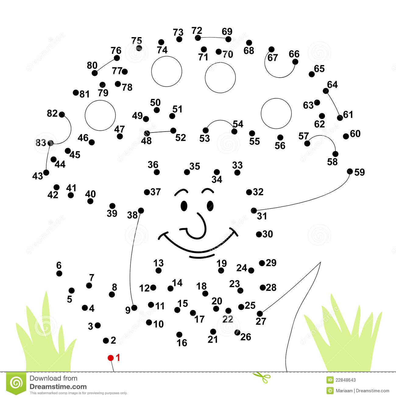 Connect The Dots Stock Photos - Image: 22848643