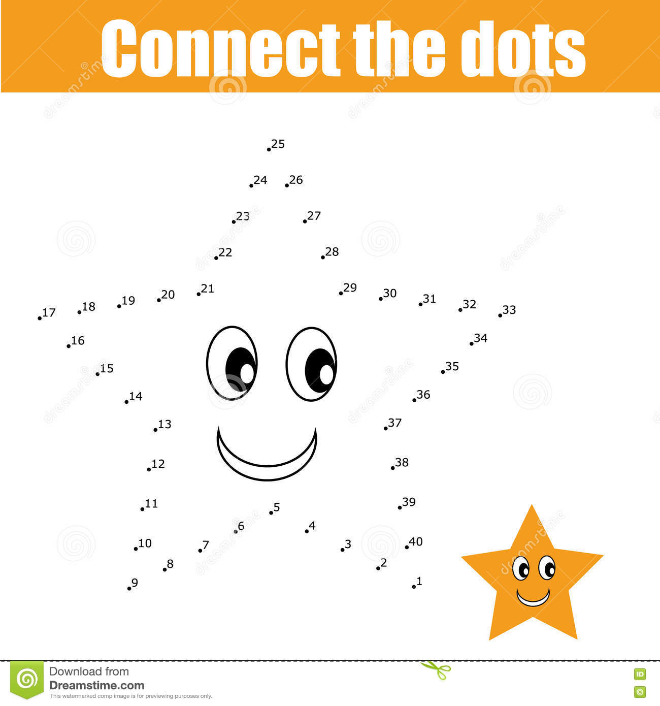 children connect dots
