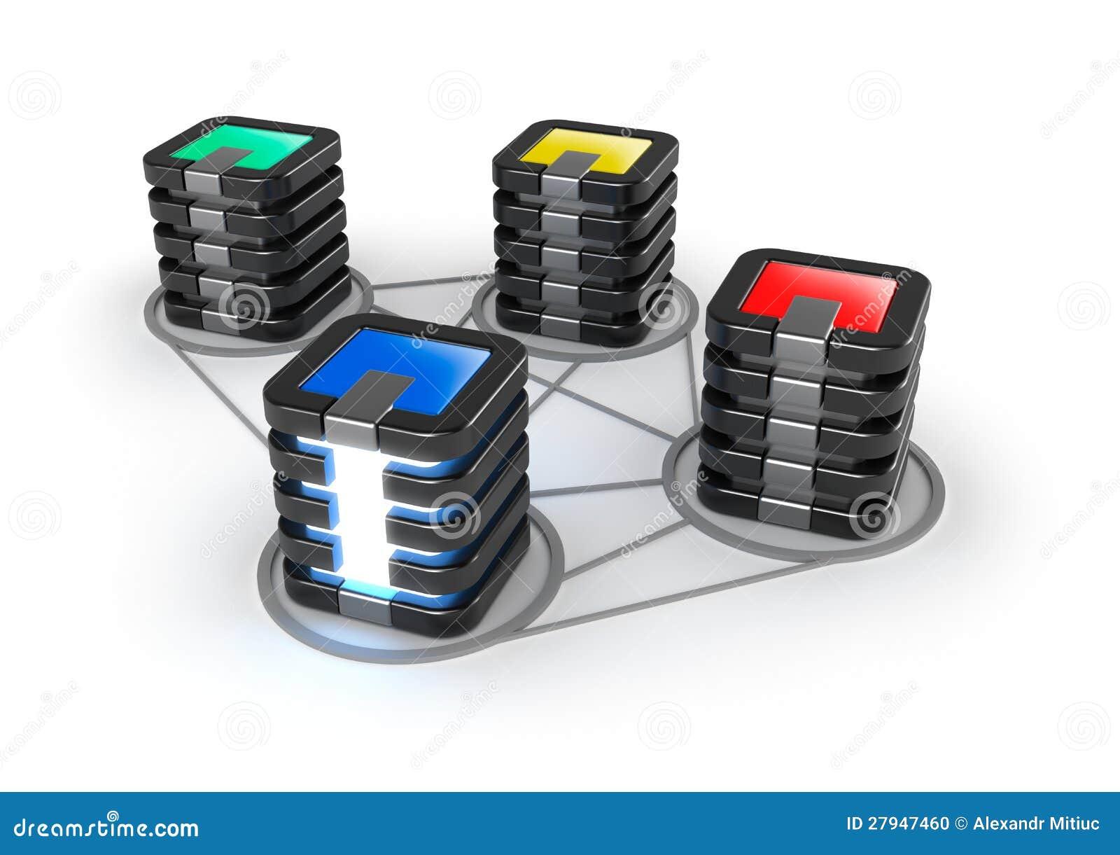 Server farm icon