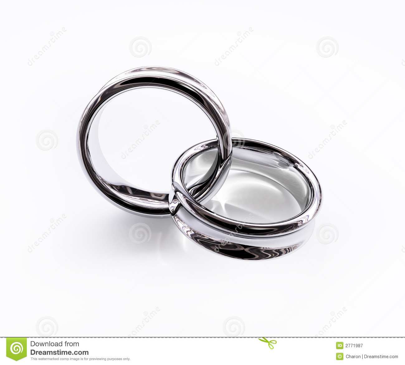interlocking wedding rings clipart - photo #30