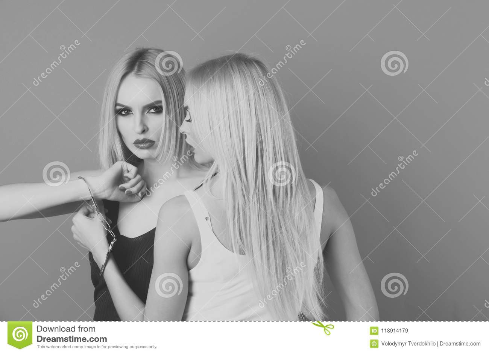 Single blonde women