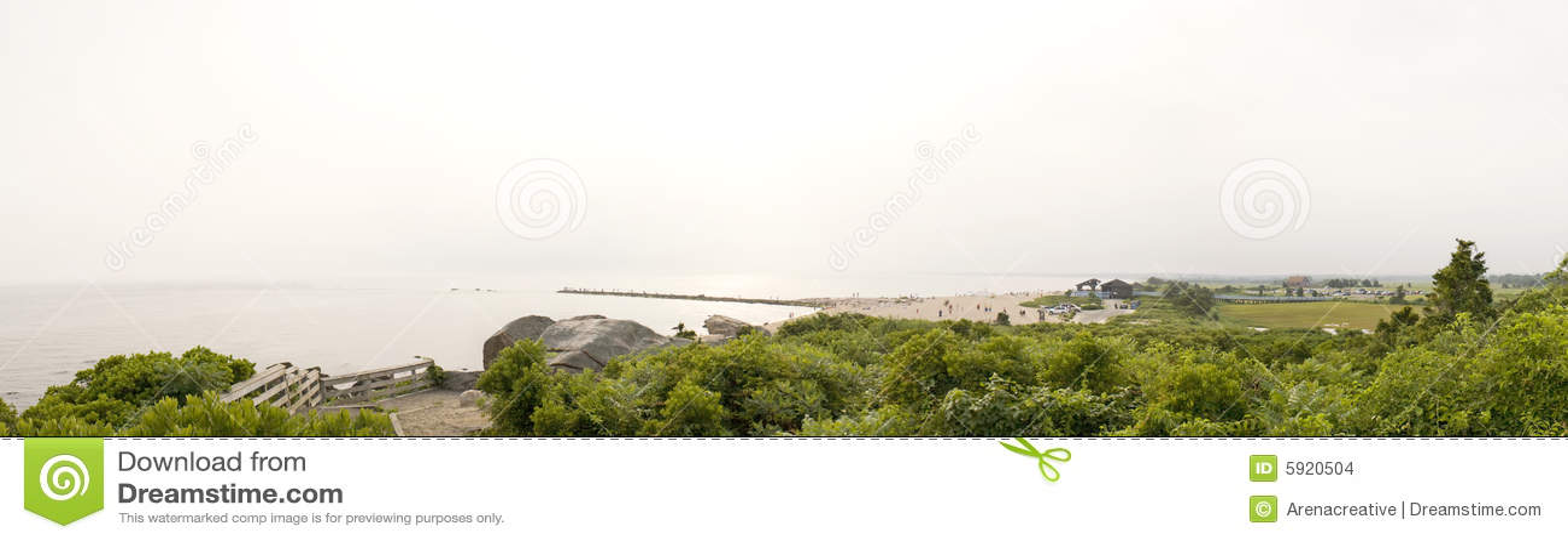 Connecticut-Strand-Panorama