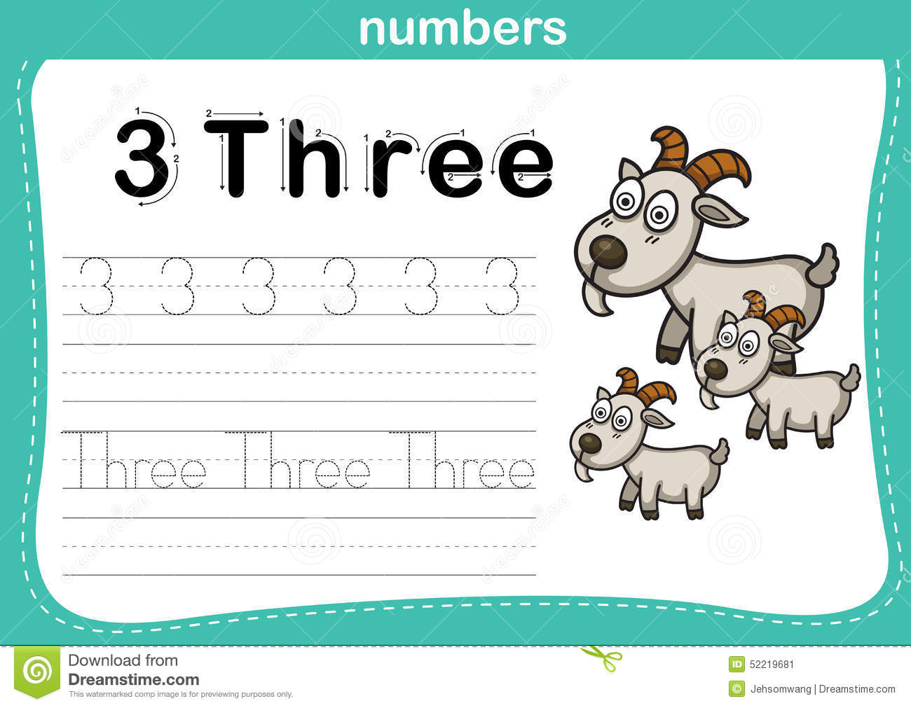 Printables Kindergarten Exercise connecting dot and printable numbers exercise stock vector image exercise
