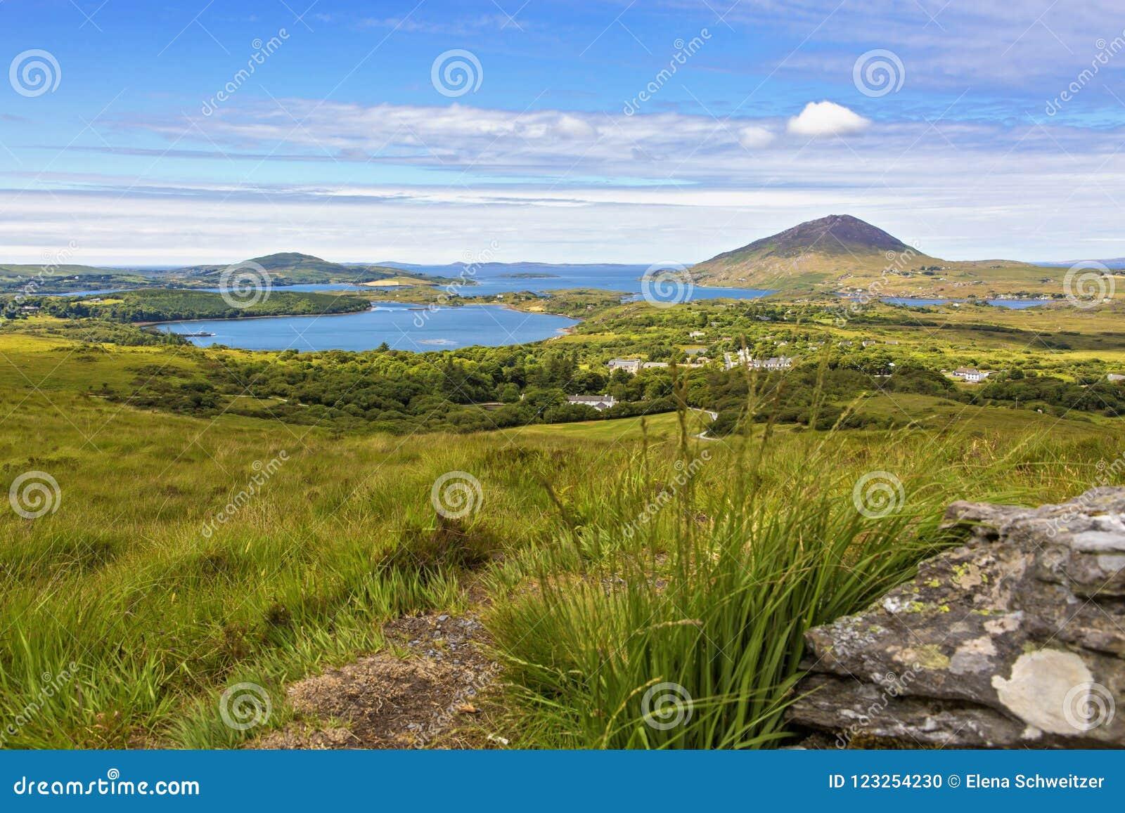 Download Connemara National Park stock photo. Image of ocean - 123254230