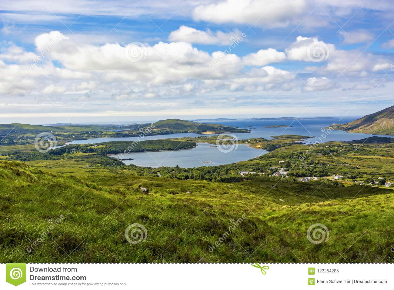 Download Connemara National Park stock image. Image of ireland - 123254285
