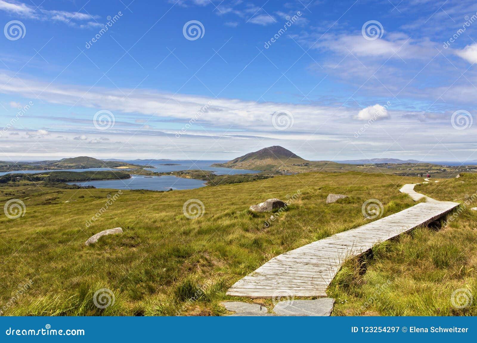 Download Connemara National Park stock image. Image of summer - 123254297
