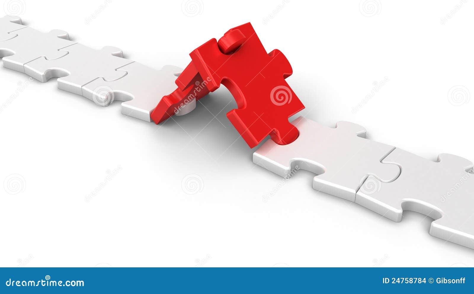 Connexion de puzzle