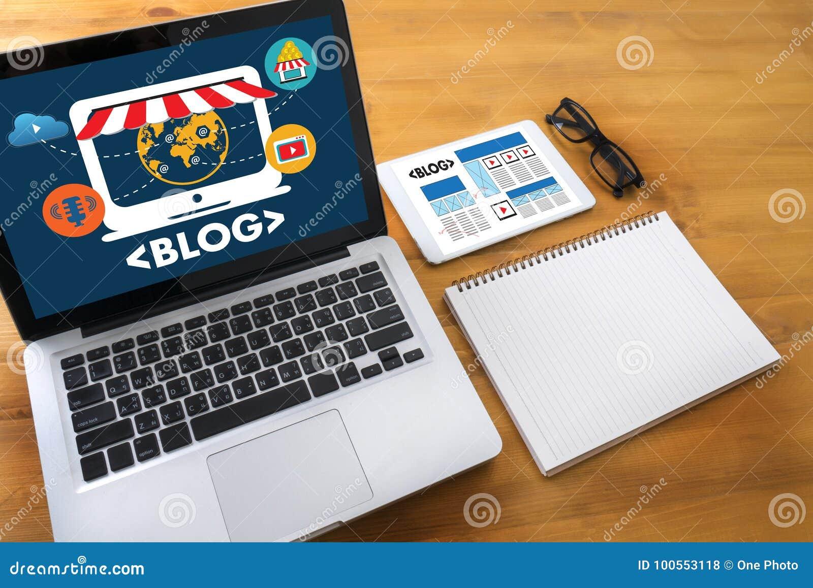 Connexion sociale N de media de page Web en ligne d Internet de site Web de BLOG