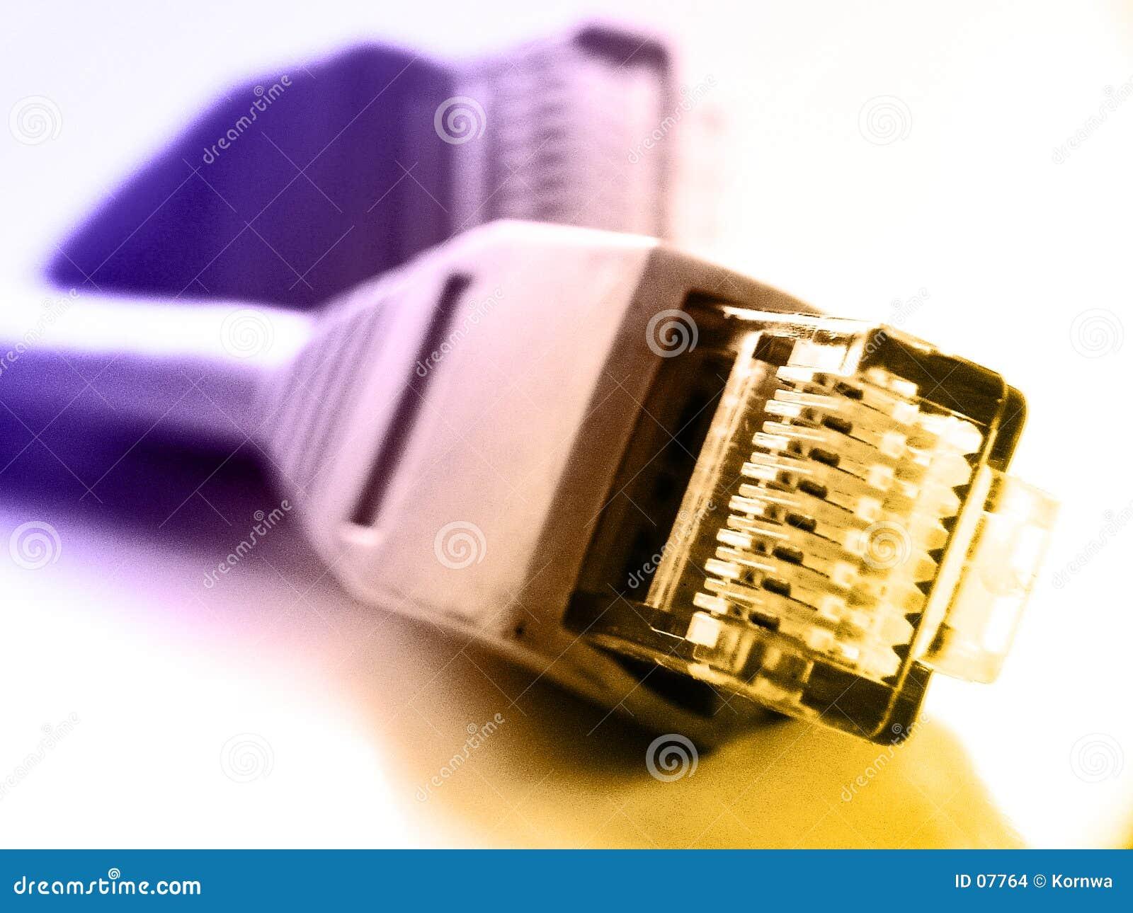 Connexions du réseau rj45