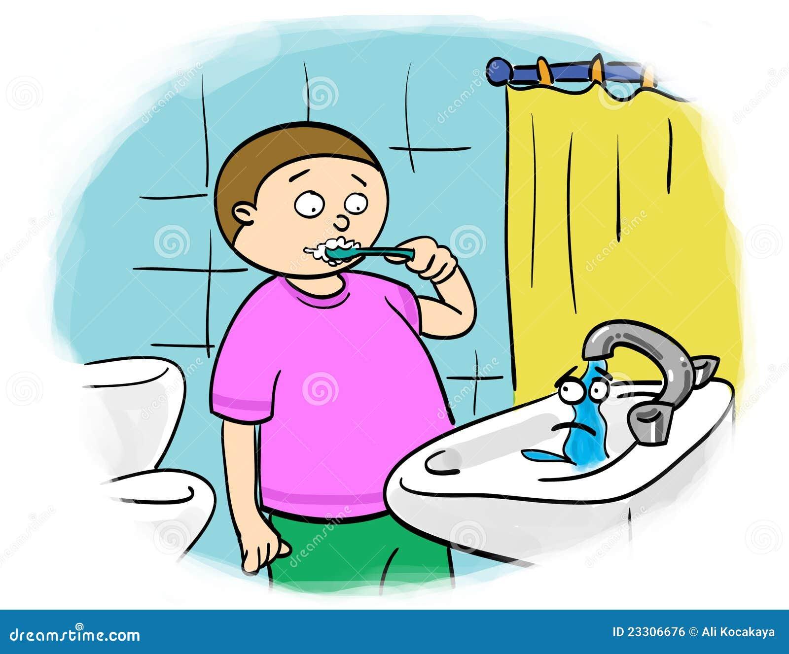 Économie De L'eau Image libre de droits - Image: 23306676