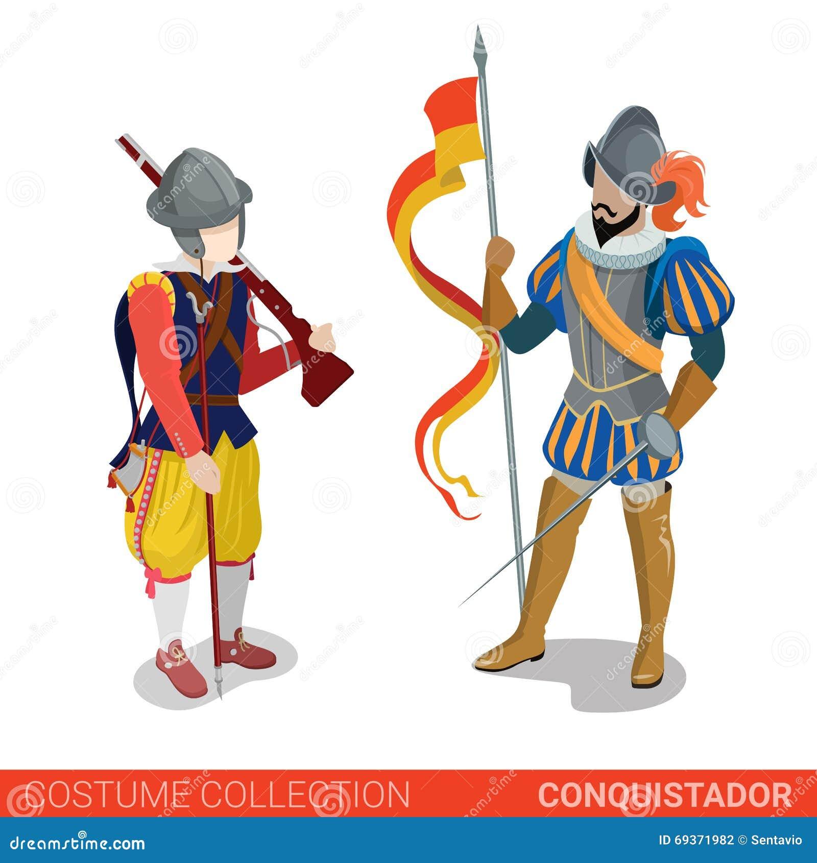 Conquistador medieval conqueror warrior fighter couple
